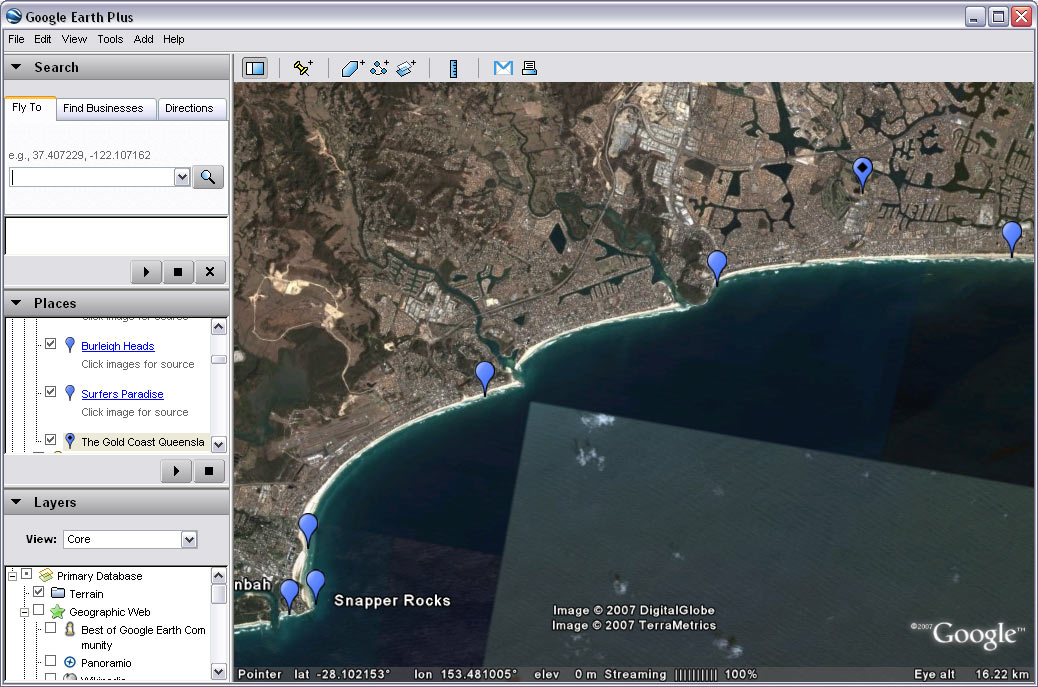 Juicy Geography Investigating Sea Level Change With Google Earth - How to check sea level from google map